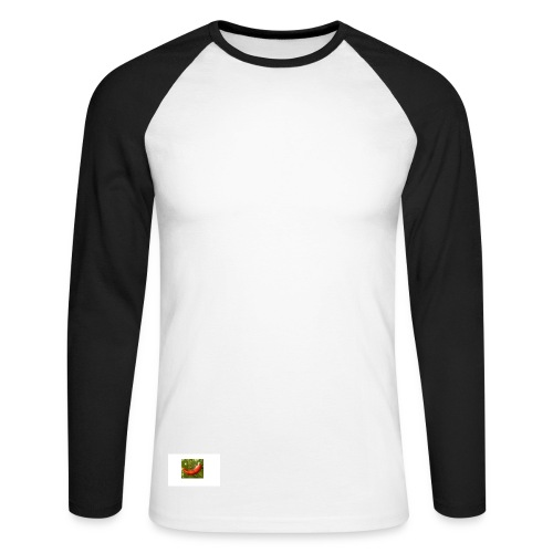 Das Logo - Männer Baseballshirt langarm