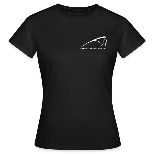 No Tails - women's black T
