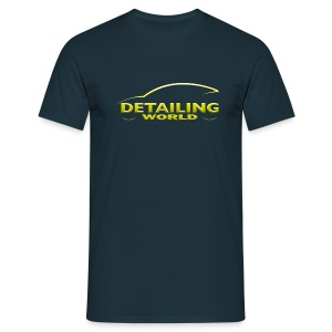 Detailing World 'Questions' GOLD T-Shirt - Men's T-Shirt