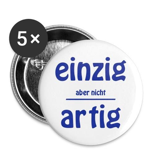 Einzizartig - Buttons mittel 32 mm (5er Pack)
