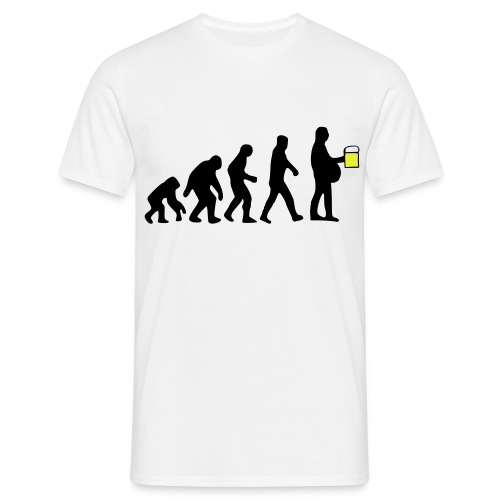 Beer Evolution - Men's T-Shirt