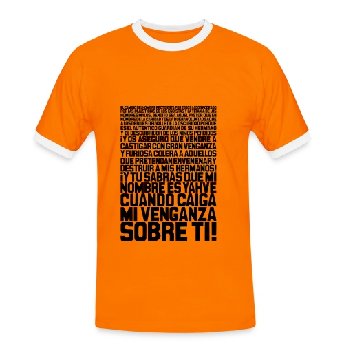 Pulp Fiction: Ezequiel 25:17 - Camiseta contraste hombre