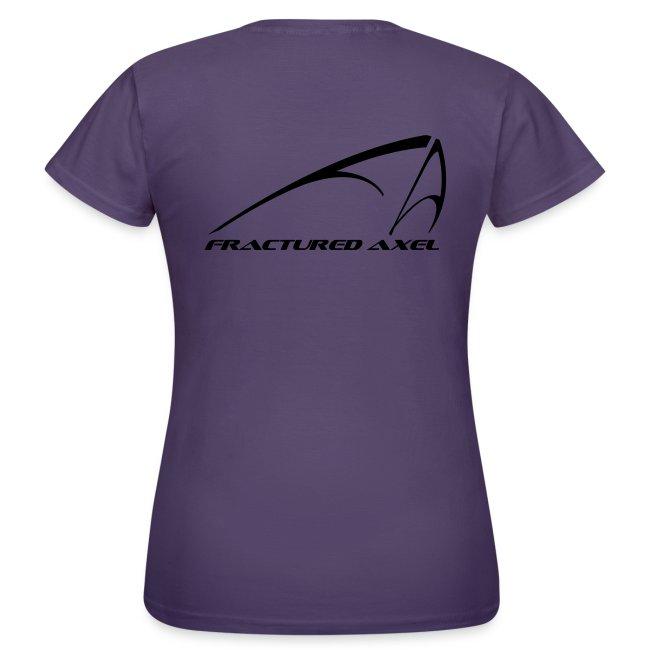 FA Logo - Women's classic T - Black print
