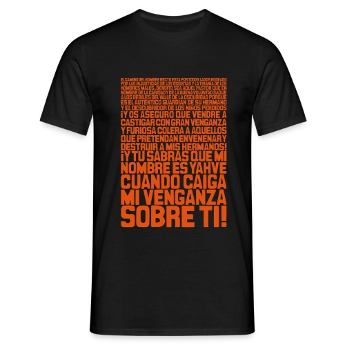 Pulp Fiction: Ezequiel 25:17 - Camiseta hombre