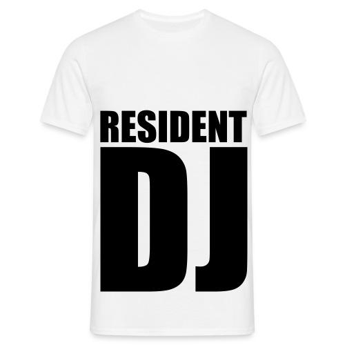 Resident DJ - Mannen T-shirt