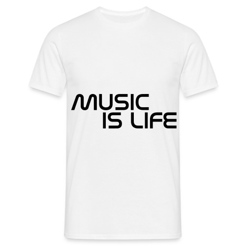 music is life - Mannen T-shirt