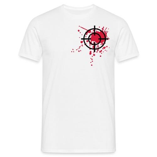 Heart-Shot! - Männer T-Shirt