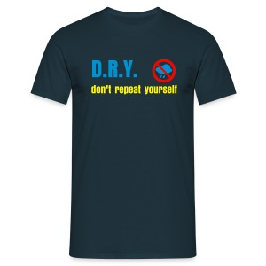 Don't Repeat Yourself - Men's T-Shirt