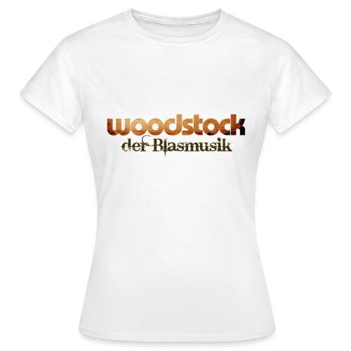 Damenshirt Logo vorne - Frauen T-Shirt