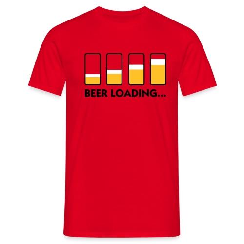 BEER LOADING TEE - Men's T-Shirt