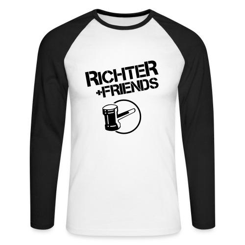 RICHTER+FRIENDS - Longsleeve 1 - Männer Baseballshirt langarm