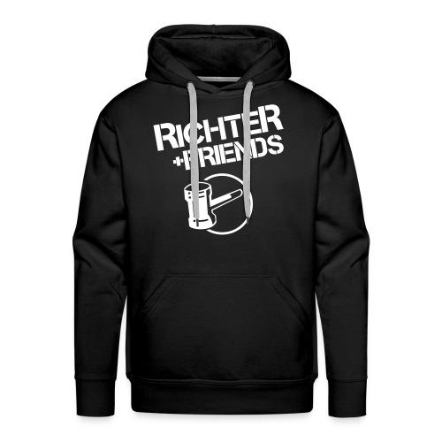RICHTER+FRIENDS - Hoody, black - Männer Premium Hoodie