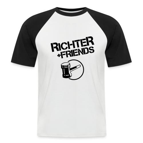 RICHTER+FRIENDS - Baseballshirt - Männer Baseball-T-Shirt