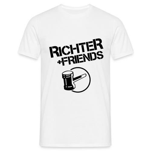 RICHTER+FRIENDS - Classic-Shirt, white - Männer T-Shirt