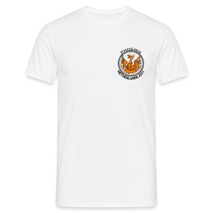 White shirt, Netherlands 2011 logo - Men's T-Shirt