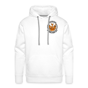 Men's white hoody, Netherlands 2011 logo - Men's Premium Hoodie
