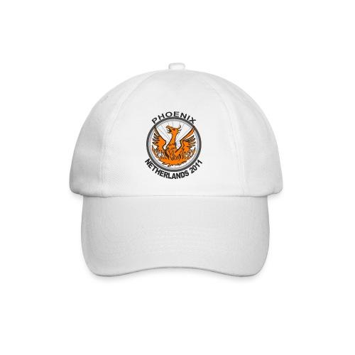 White baseball cap, Netherlands 2011 logo - Baseball Cap