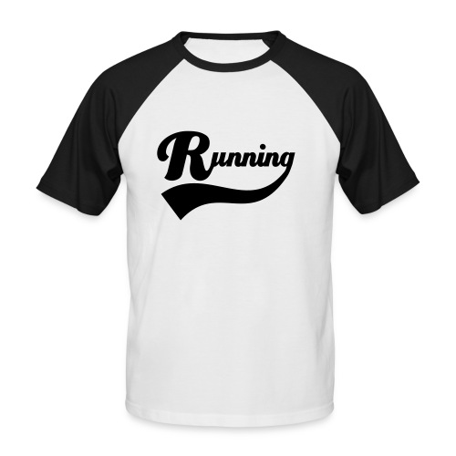 Running - T-shirt baseball manches courtes Homme
