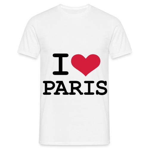 T-shirt : i love Paris - T-shirt Homme