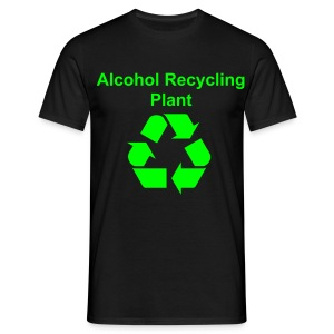 Alcohol Recycling - MALE - Men's T-Shirt