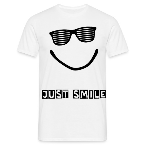 JUST SMILE - Men's T-Shirt