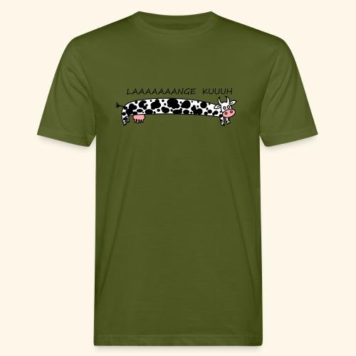 Männer T-Shirt Laaange Kuh - Männer Bio-T-Shirt