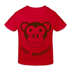 T shirt enfant the monkey - T-shirt Bio Enfant