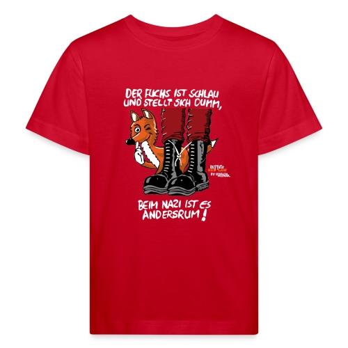 Der schlaue Fuchs - Kinder Bio-T-Shirt