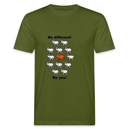different - Männer Bio-T-Shirt