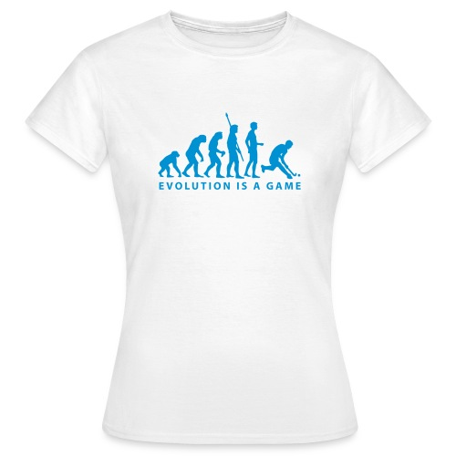 hockey evolution - Women's T-Shirt