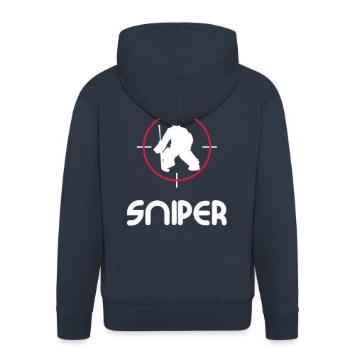 'Sniper' Men's Hooded Jacket - Men's Premium Hooded Jacket