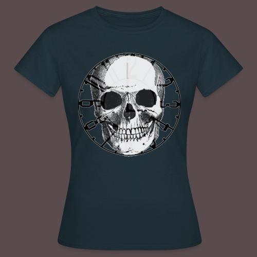 Frauen T-Shirt (Skull-Uhr)  - Frauen T-Shirt