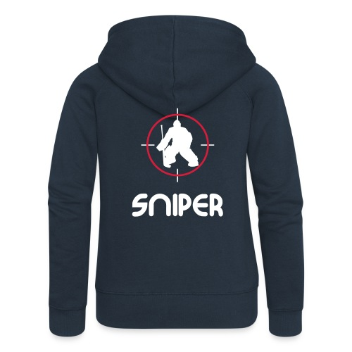 'Sniper' Women's Hooded Jacket - Women's Premium Hooded Jacket