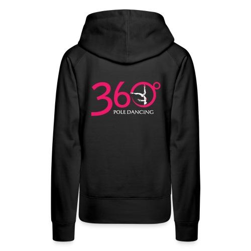 Black 360 Hoodie - Women's Premium Hoodie