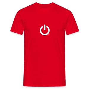 Camiseta interruptor power On Off 20 12 - Camiseta hombre