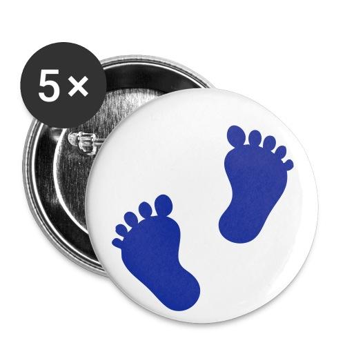 Babyfüße - Buttons klein 25 mm