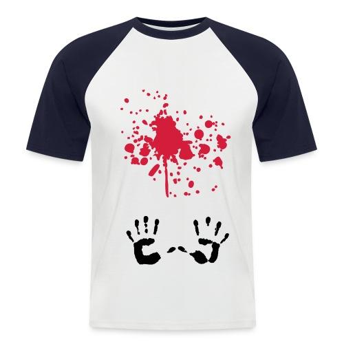 r a ï s - T-shirt baseball manches courtes Homme