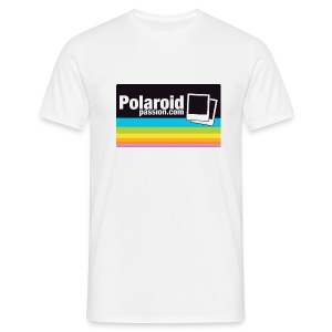 T-Shirt Boy Polaroid Passion - T-shirt Homme