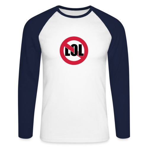 GE NoLOL Sweatshirt - Männer Baseballshirt langarm
