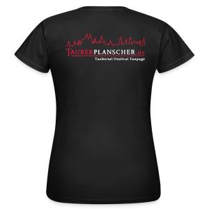 Damen-T-Shirt (Logo rot-weiß) - Frauen T-Shirt