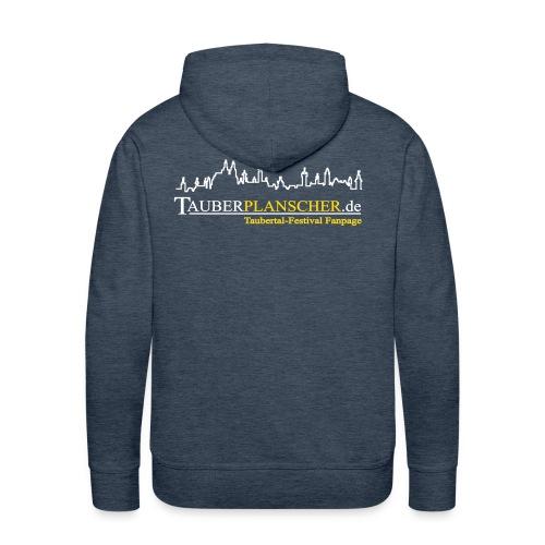 Rocky Kapuzenpullover (Logo weiß-gelb) - Männer Premium Hoodie