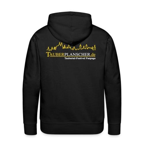 Rocky Kapuzenpullover (Logo gelb-weiß) - Männer Premium Hoodie