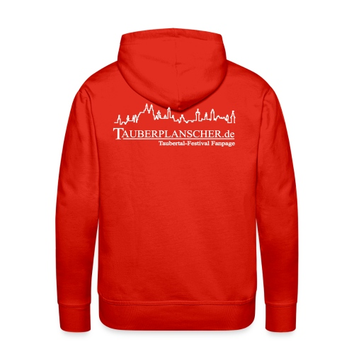 Rocky Kapuzenpullover (Logo weiß) - Männer Premium Hoodie