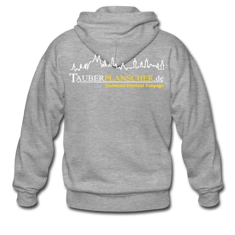 Rocky Kapuzenjacke (Logo weiß-gelb) - Männer Premium Kapuzenjacke