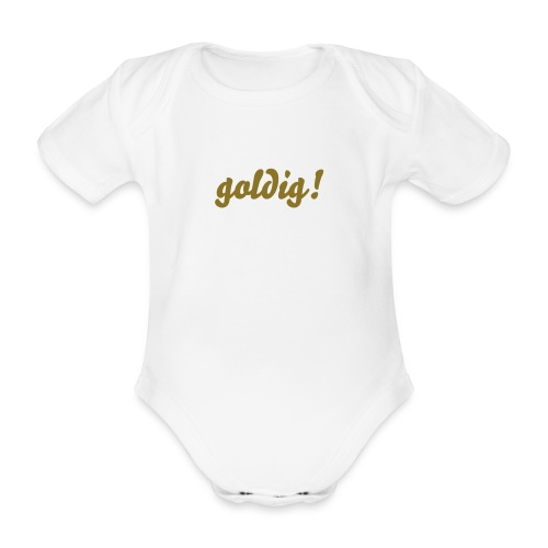 goldig! bello - Baby Bio-Kurzarm-Body