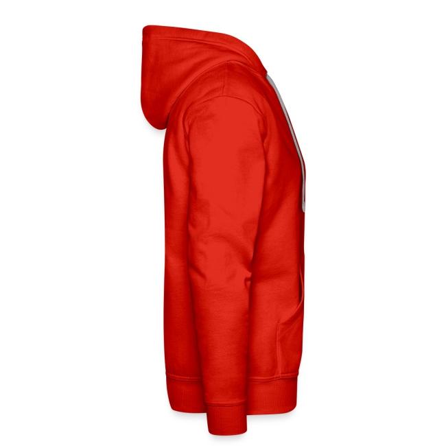 Men's hoodie - red