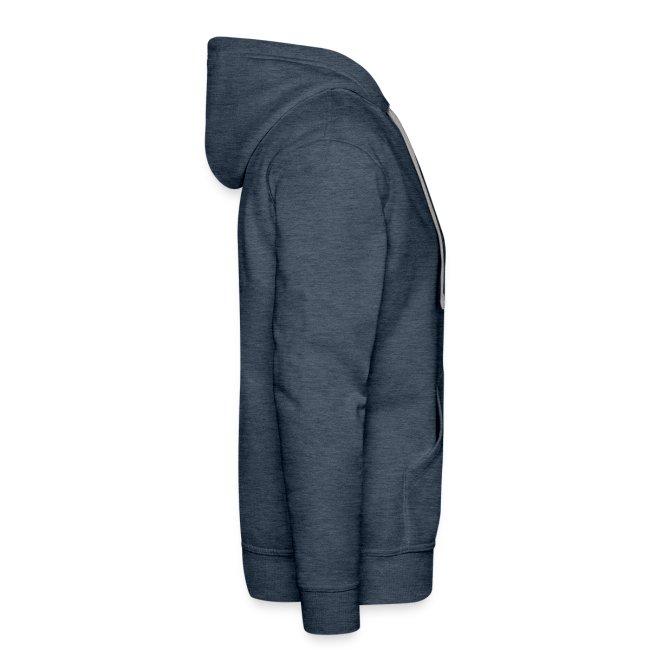 Men's hoodie - brown