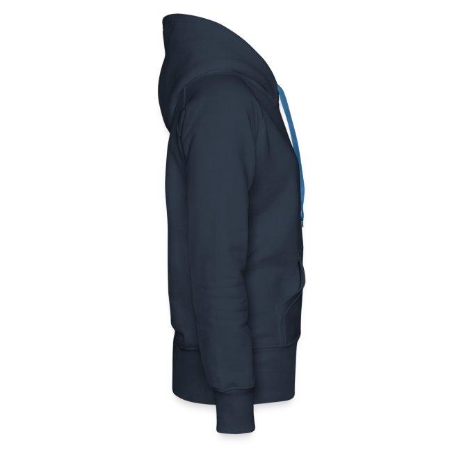 Girl's hoodie - blue