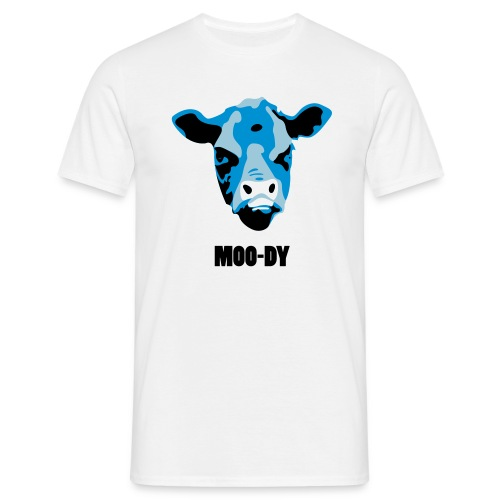 Moody Cow - Men's T-Shirt