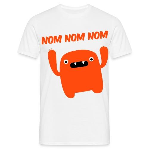 Nom nom nom T-skjorte - T-skjorte for menn